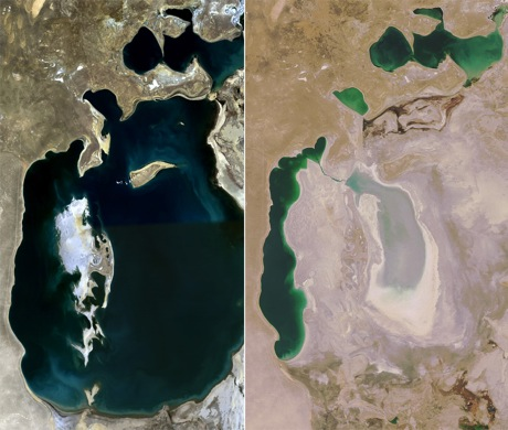 cotton aral sea